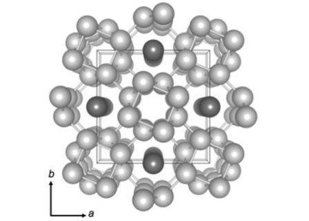 Структура кристаллической решетки калия© McBride et al.