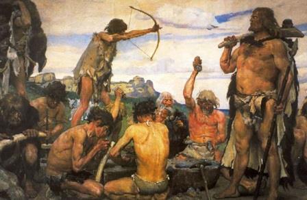 Картина Виктора Васнецова «Каменный век»