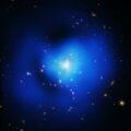 Изображение галактического кластера Феникс, сделанное телескопом «Чандра» © NASA — Chandra Space Telescope