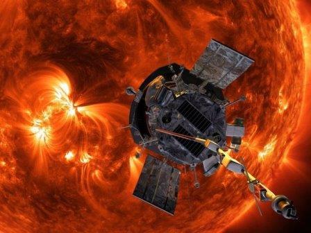 Зонд «Паркер» © John Hopkins APL/Nasa/PA