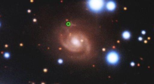 Источник FRB 180916.J0158+65 © NSF's Optical-Infrared Astronomy Research Laboratory/Gemini Observatory/AURA