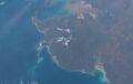 Западное побережье Австралии © Nasa