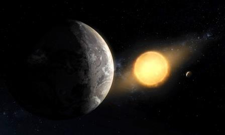 Экзопланета Kepler-1649c: взгляд художника  ©Daniel Rutter, NASA Ames Research Center