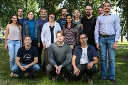 Сотрудники Центра алгоритмической биотехнологии СПбГУ © Пресс-служба СПбГУ
