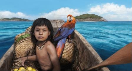 Один из ранних поселенцев в Карибском бассейне © Tom Björklund