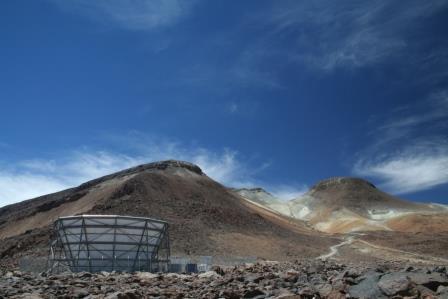 Телескоп ACT в Чили ©Ahincks, Wikimedia Commons