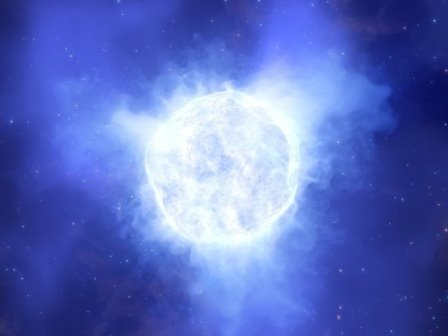 Исчезающая звезда © ESO/L. Calçada