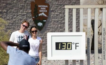 Температура в Долине Смерти © Getty Images