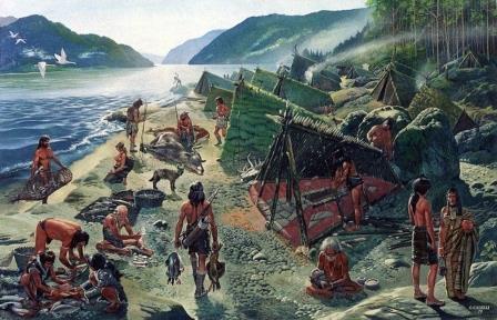 Древние люди полагались на зону береговых линий, чтобы пережить ледниковый период © Getty images