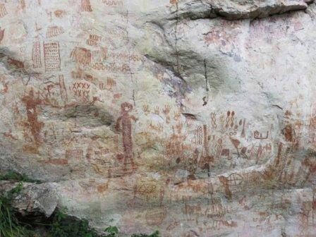 Рисунки в Ла-Серраниа-ла-Линдоса © Morcote-Ríos et al./Quaternary International