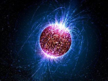 Нейтронная звезда © Casey Reed/Penn State University