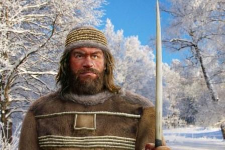 Реконструкция человека из Сунгиря © Роман Евсеев