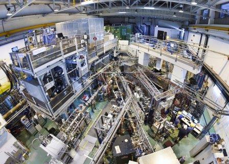 Установка ISOLDE, вид сверху © CERN